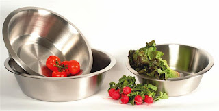 stainless steel dishpan