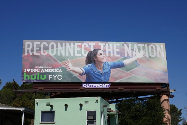 I Love You America Emmy FYC billboard