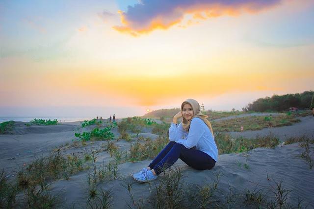 Tempat wisata Pantai parangkusumo Bantul Yogyakarta