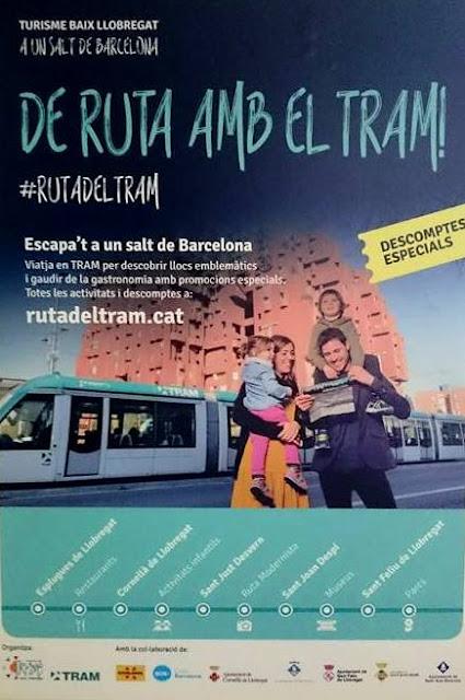 Descobrint la #RutadelTram amb Turisme del Baix Llobregat