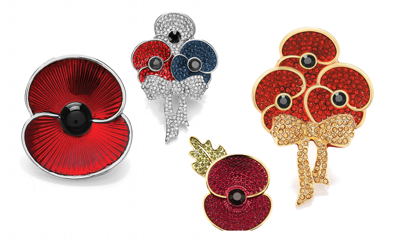 Buckley London Royal British Legion Poppy Collection