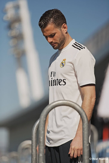 competitive price 69100 dcdb1 Real Madrid 18-19 Home Kit Released - Footy Headlines