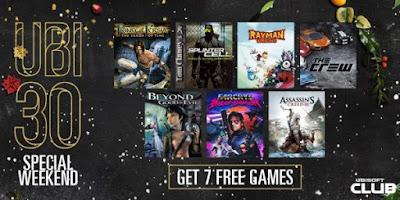 """7 במחיר של 0 - כל 7 משחקי החינם של """"Ubisoft30"""" יחלוקו בחינם בסוף השבוע הזה"""
