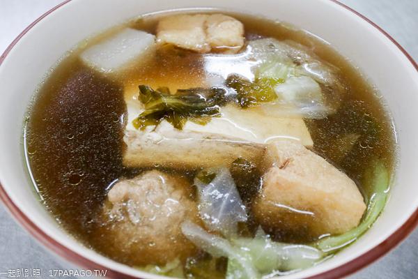 台中霧峰|福伯素食店|樹仁商圈平價素食美食|紅燒臭豆腐|特色小吃