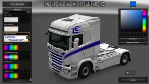 Carera Transport PL Skin for Scania RJL