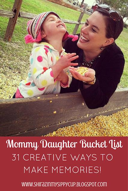 Mommy Daughter Bucket List #parenting #motherhood #workingmoms