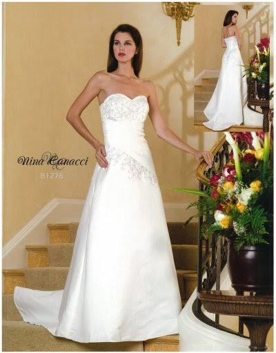 Wedding Gallery: Lavender And White Wedding Gowns 2011