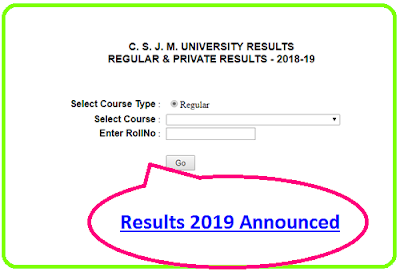 Kanpur University Results 2019