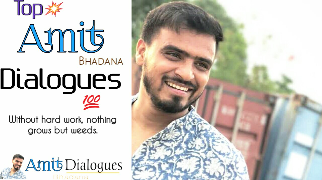 Amit bhadana dialogues in Hindi