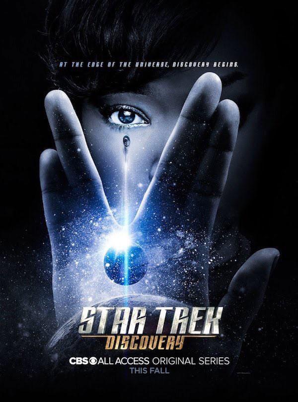 star trek discovery recenzja serialu plakat netflix jason isaacs lorca