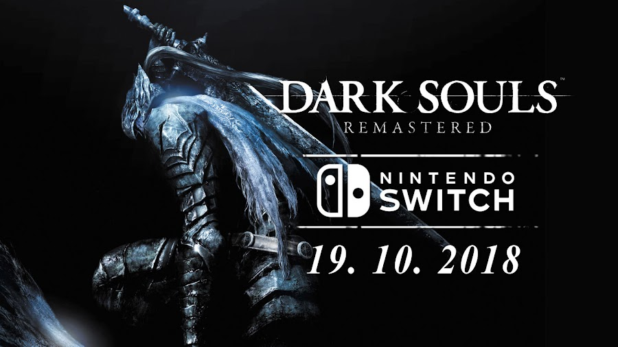 dark souls remastered switch release