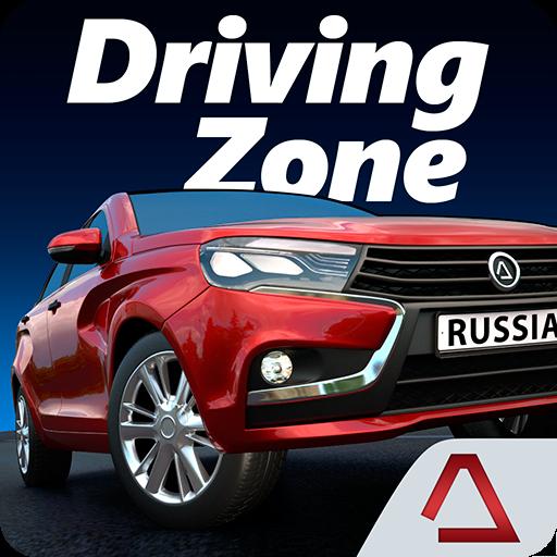 تحميل لعبه Driving Zone: Russia مهكره اخر اصدار