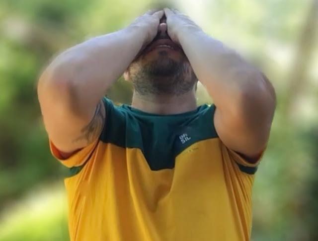 Evaristo Costa se entristeceu com derrota brasileira contra a Bélgica
