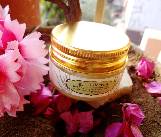 Just Herbs Aloevera Facial Massage Gel