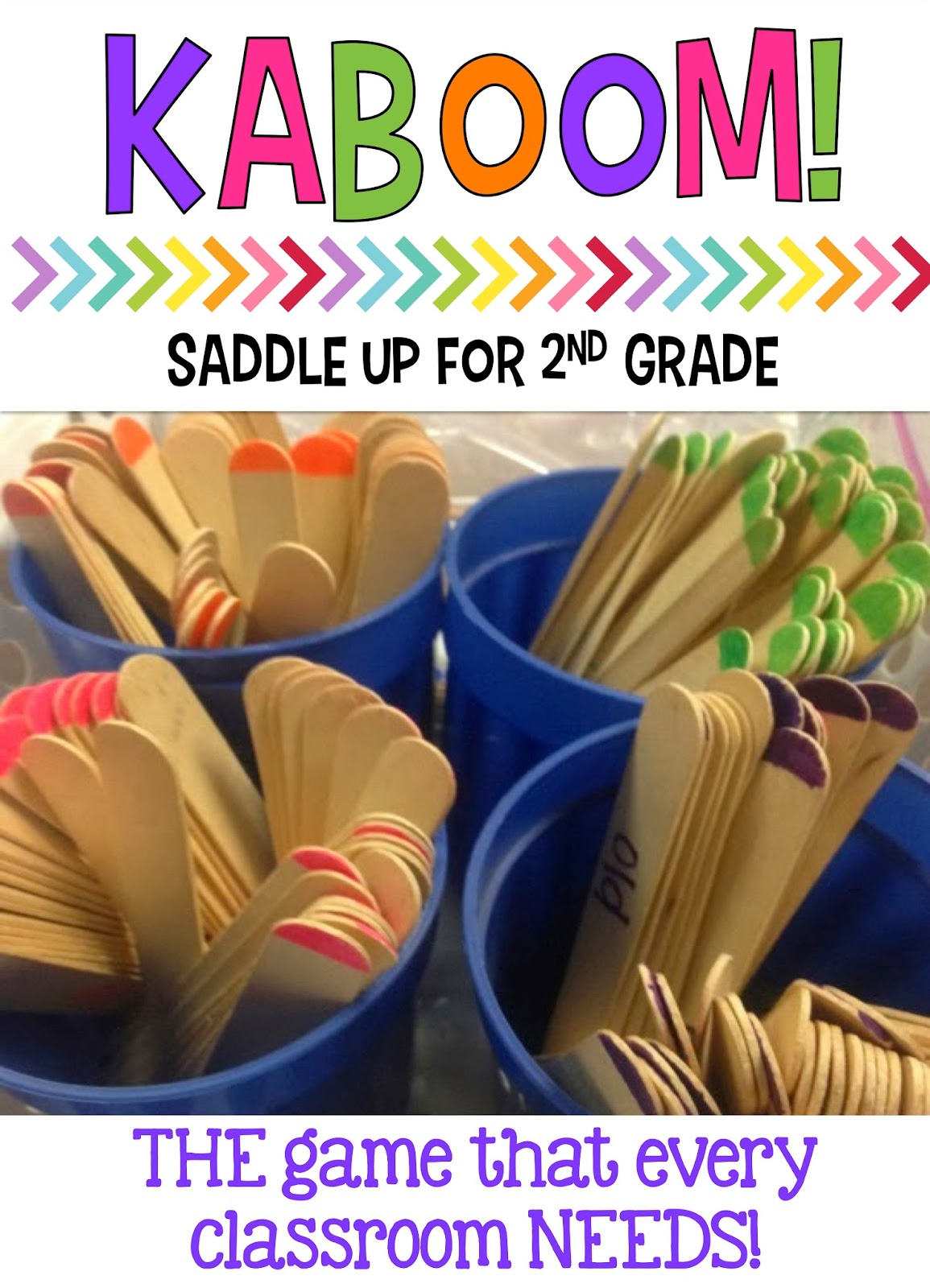 KABOOM! The Game that Every Classroom Needs - Saddle up for Second Grade