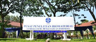 Lowongan Kerja Lowongan Tidak Tetap Sebagi Satpam di Pusat Penelitian Biomaterial LIPI