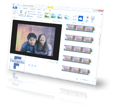 Aplikasi edit video gratis terbaik windows movie  maker