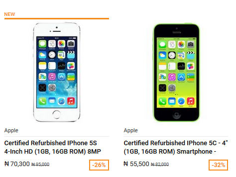 You Can Now Get Certified Refurbished Apple iPhones as cheap as N55