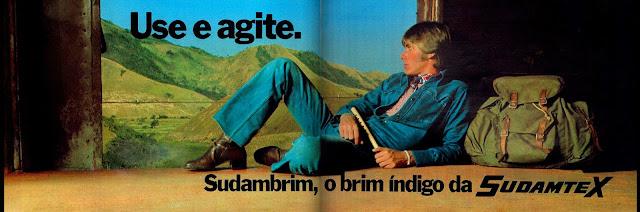propaganda brim Sudambrim - Sudamtex - 1974. anos 70, Moda anos 70; propaganda anos 70; história da década de 70; reclames anos 70; brazil in the 70s; Oswaldo Hernandez