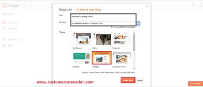 How to Create a Website On Blogger in Hindi (Blogger पर वेबसाइट कैसे बनाये)
