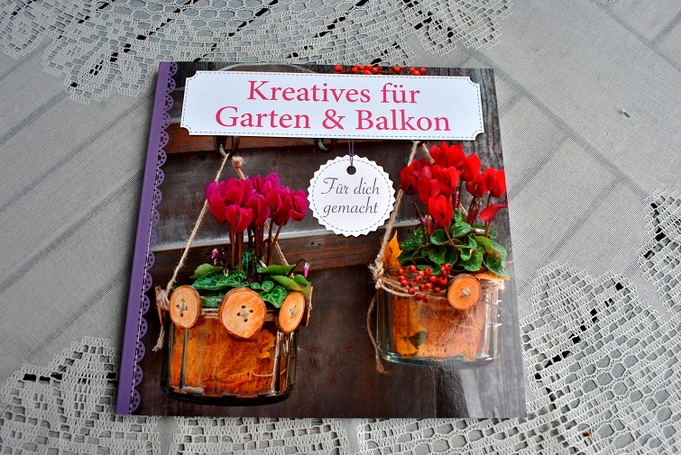 Gartendeko-Anleitungen im Buch