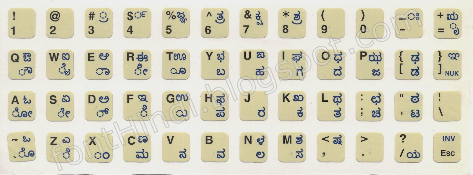 Kannada Fonts Online