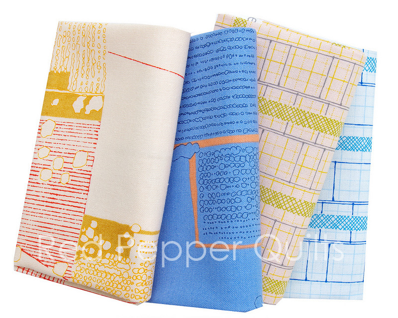 Friedlander by Carolyn Friedlander for Robert Kaufman Fabrics | © Red Pepper Quilts 2017