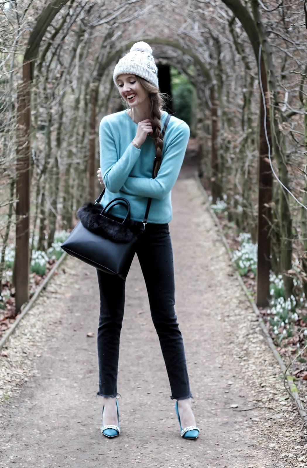 Styling The Colour Teal in Winter
