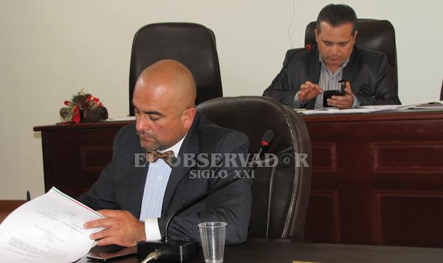 Actual Secretario General del Concejo fue ratificado en el cargo para 2017
