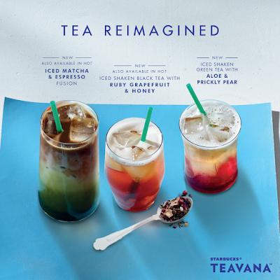 Starbucks Malaysia Free Tall Size Autumn Beverage Promo Teavana