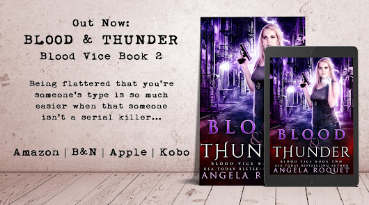 Out Now: Blood and Thunder (Blood Vice Book 2)