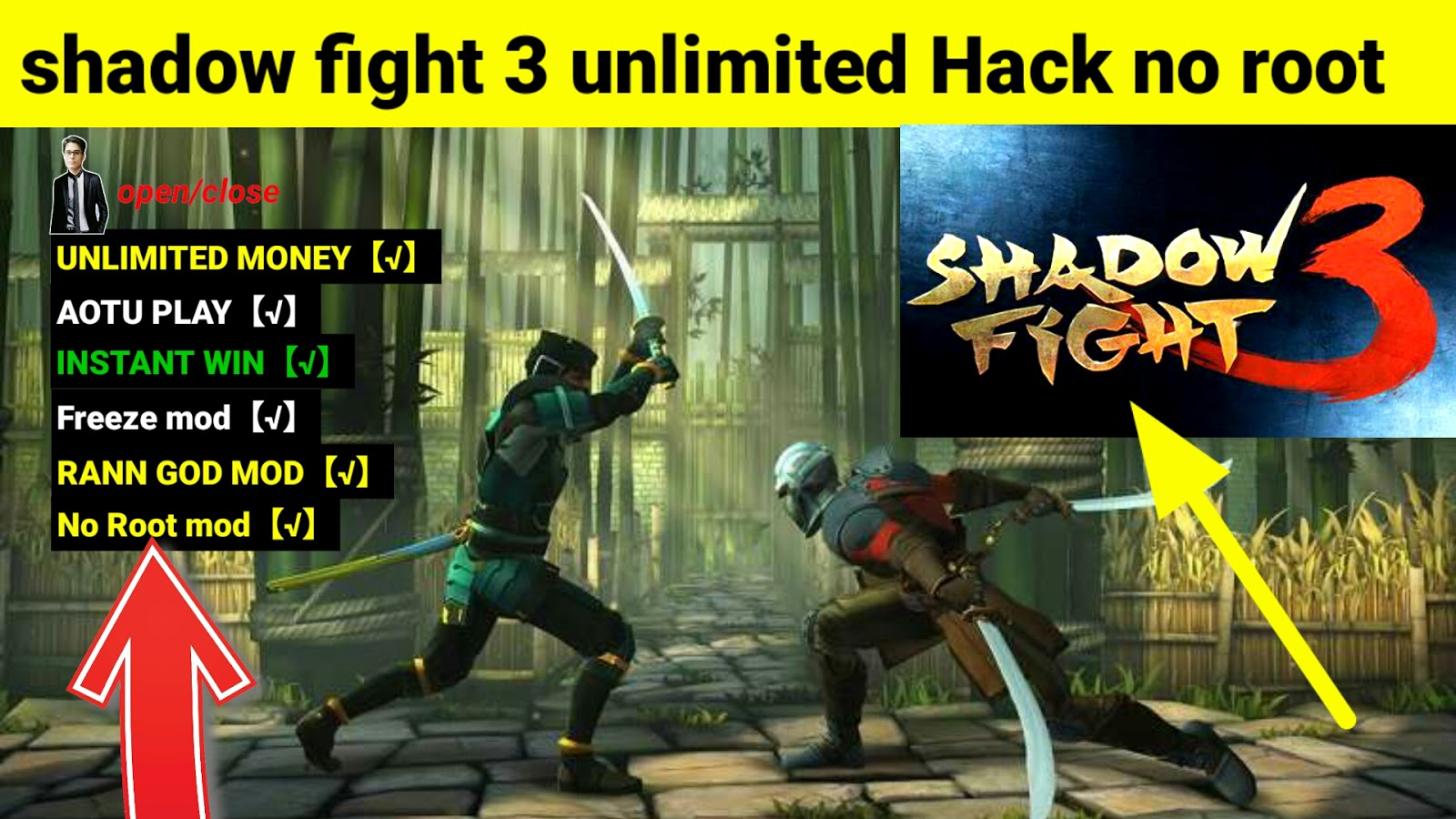 Image result for shadow fight 3 hack