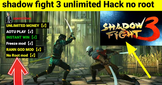 Shadow fight 3 unlimited Money Mod Apk Download 2018 v1.9.3 freeze mod apk