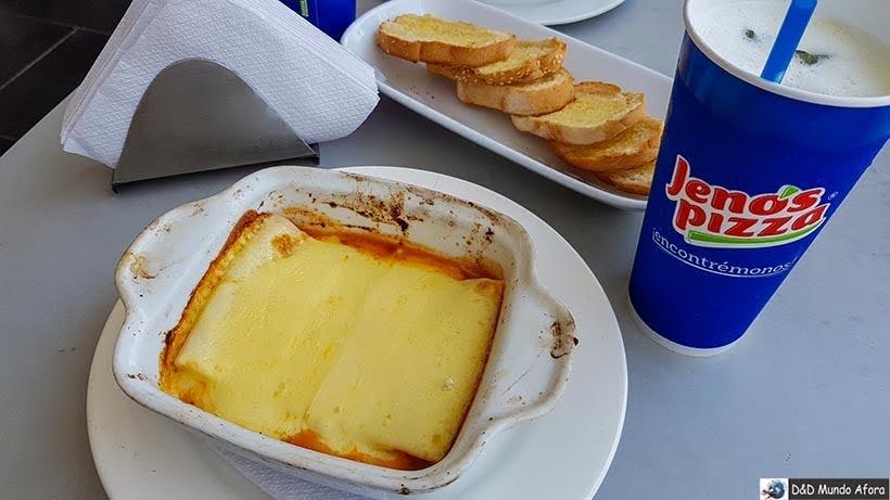 Jantar na Jeno's PIzza - Diário de bordo: 4 dias em Cartagena, Colômbia