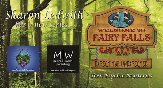 Spotlight on Fairy Falls #TeenPsychicMystery by @sharonledwith @MirrorWorldPub @saphs_books