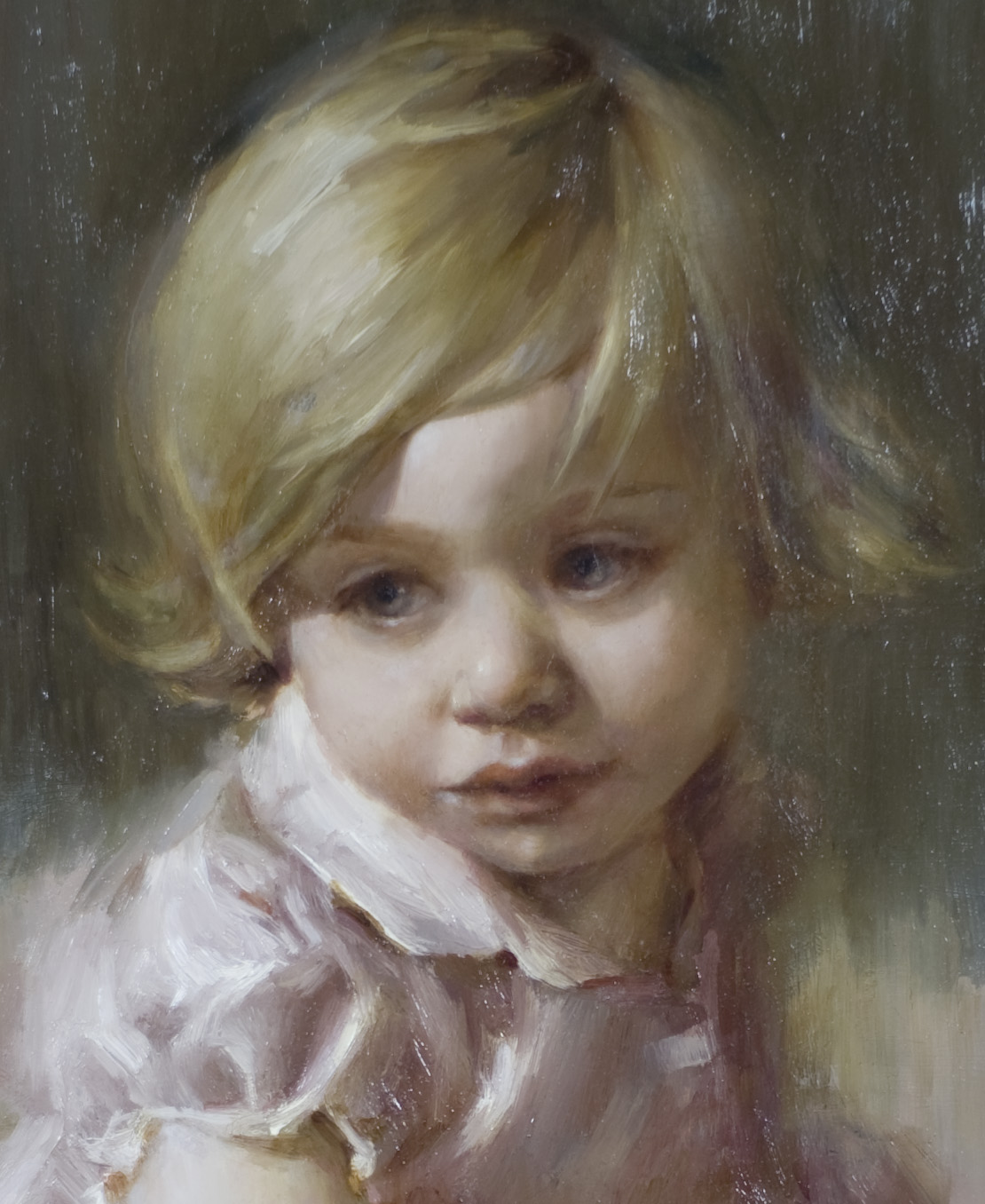 Mary Sauer Art Children S Oil Portraits