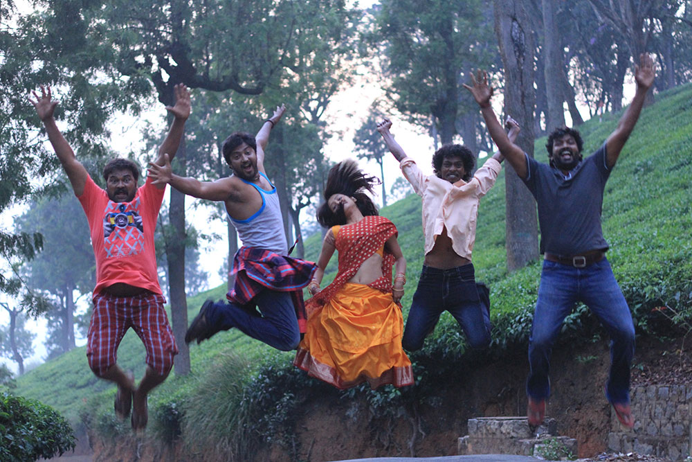 Aryan rajesh monika starring new telugu movie photos