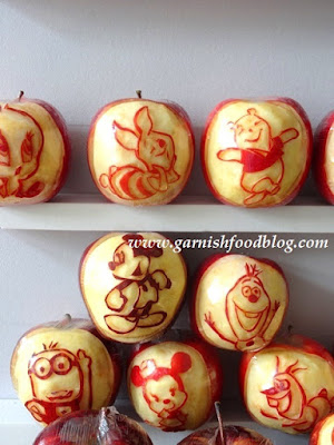 aplle carving party gifts idea