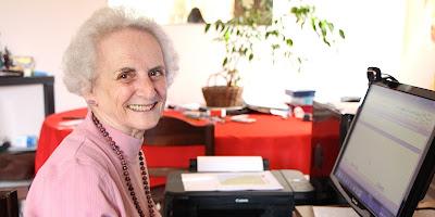 Delia Visscher, nenek 84 Tahun ini Semangat Menjadi Mahasiswa Baru