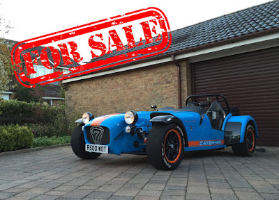The time has come - my Caterham R500 Duratec is for sale :-(