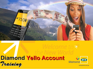 Diamond yellow account