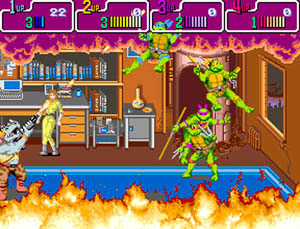 download arcade game portable Teenage Mutant Ninja Turtles