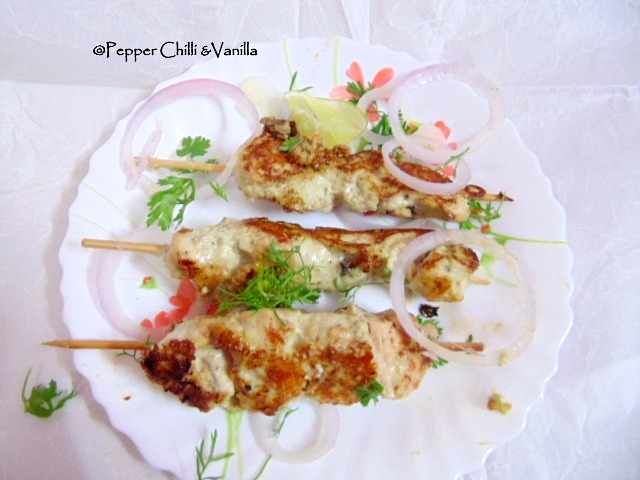 chicken malai tikka,malai chicken tikka recipe