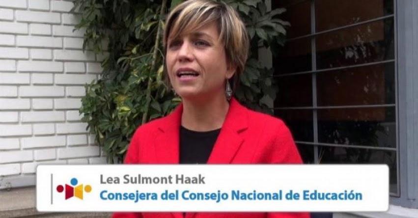 Lea Sulmont es nueva representante del Consejo de Administración del FONDEP - www.fondep.gob.pe