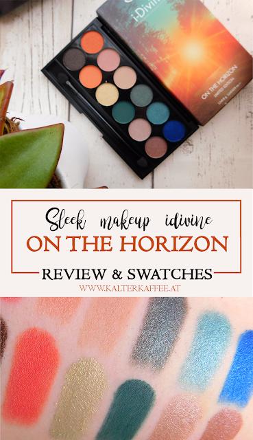 Sleek Make Up i-divine Palette On the Horizon