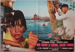 Cartel: No hago la guerra... prefiero el amor - (1966) - Non faccio la guerra, faccio l'amore