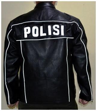 Gambar Jaket Kulit Patwal Polisi BM