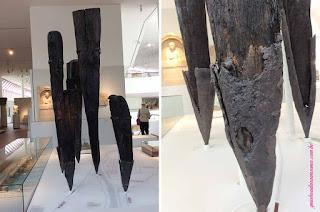 Pilares da Ponte Romana de Trier no Landesmuseum