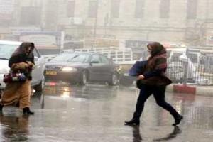الارصاد الجوية : تحذر المواطنين من تقلبات شديدة في حالة الطقس اليوم ولمدة 48 ساعه يسود طقس سيء