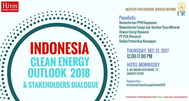 Indonesia Clean Energy Outlook 2018